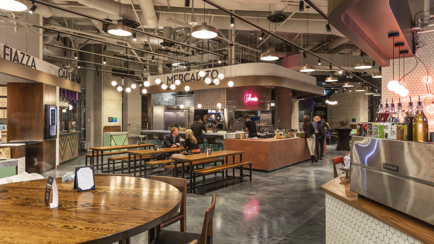 NEUF architect(e)s attended the Sunlife Food Hall's opening!