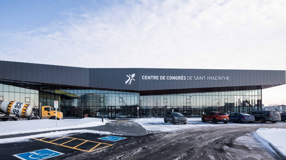 Saint-Hyacinthe Convention Center officially completed