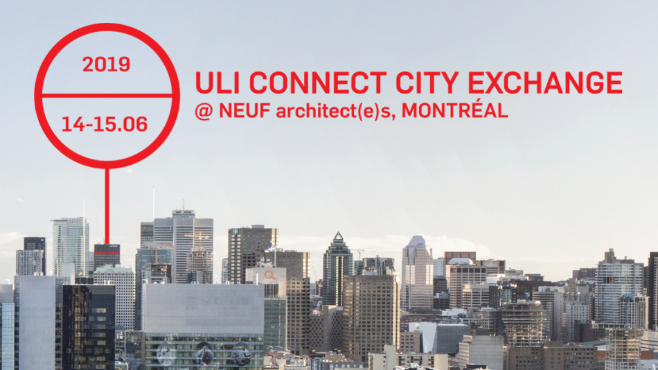 ULI Connect Montreal City Exchange chez NEUF!