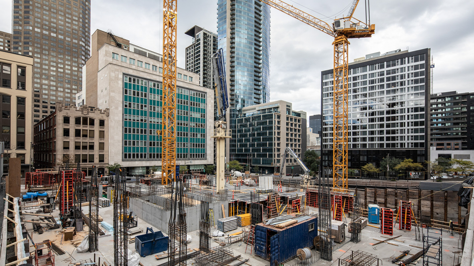 455 René-Lévesque is progressing quickly!