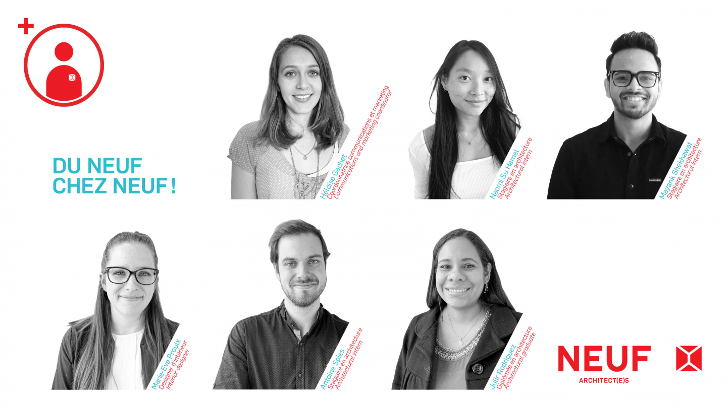 The NEUF team is growing!