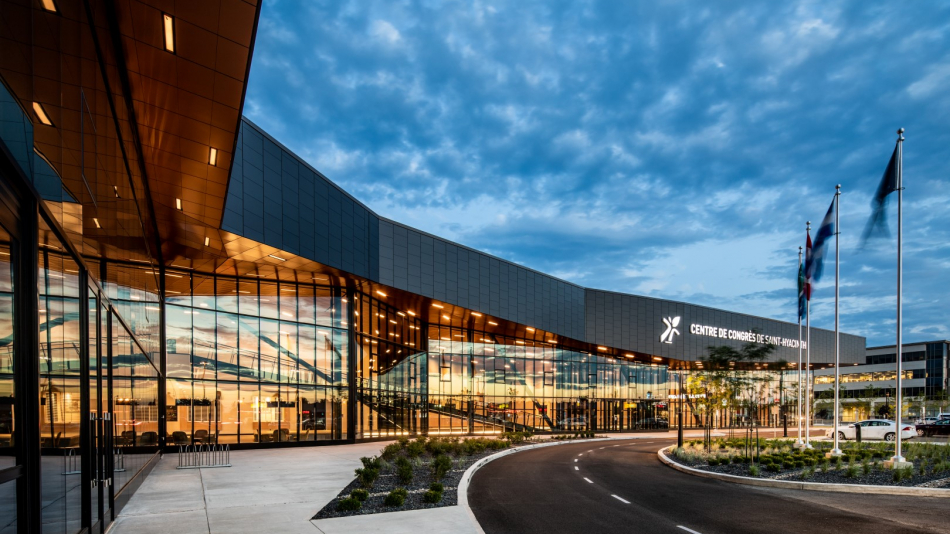 St-Hyacinthe convention center is nominated for the  CISC Quebec Steel Design Awards of Excellence 2018
