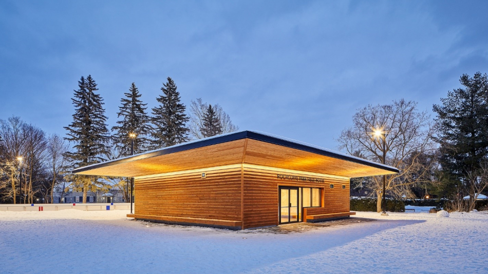 The Rockcliffe Park Fieldhouse shortlisted for the City of Ottawa Design Award!
