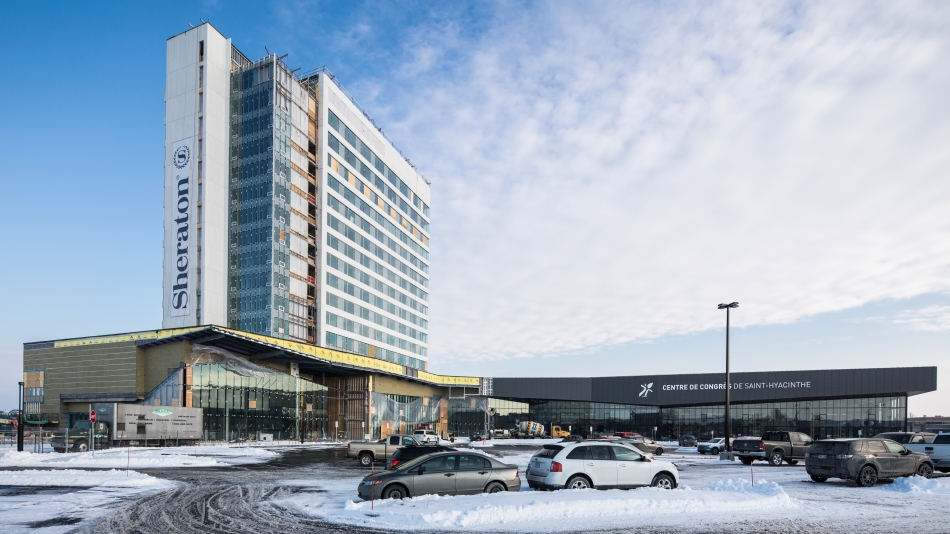 Sheraton Hotel in Saint-Hyacinthe is now open!